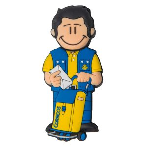 Cartero Chico-CAR-2051-EP-USB-PERSONAJES-PENDRIVE