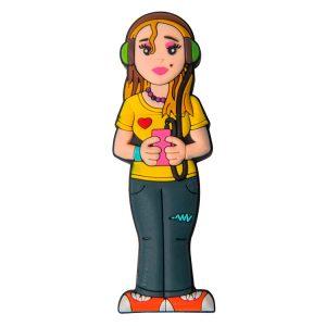Chica Joven-CHI-2055-EP-USB-PERSONAJES-PENDRIVE