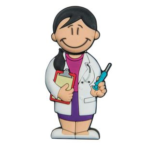 Doctora 2-D-1098-EP-USB-PERSONAJES-PENDRIVE