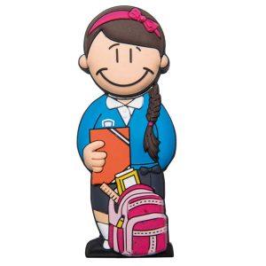 Chica Estudiante-E-2005-EP-USB-PERSONAJES-PENDRIVE