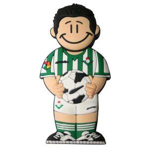 Futbolista Verdiblanco-F-1058-EP-USB-PERSONAJES-PENDRIVE