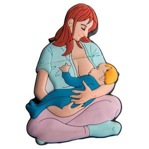 Mamá con Bebé-MA-2045-EP-USB-PERSONAJES-PENDRIVE