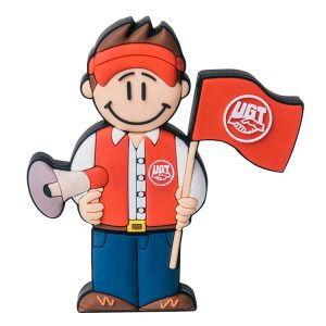 Sindicalista UGT-UG-1107-EP-USB-PERSONAJES-PENDRIVE