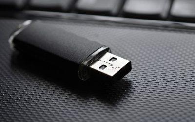 Copia de seguridad de sus archivos en un Pendrive USB